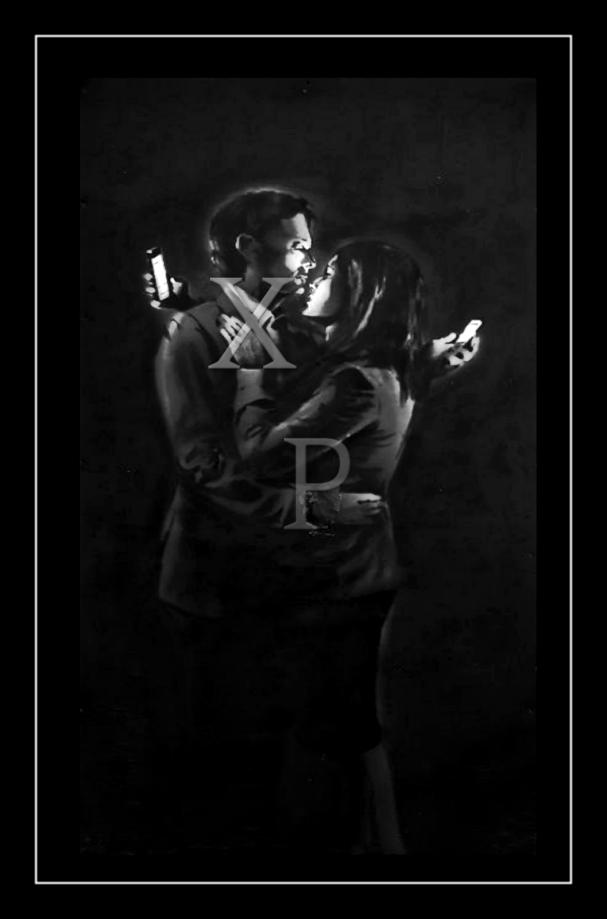 "Banksy ""Mobile"" Lovers"