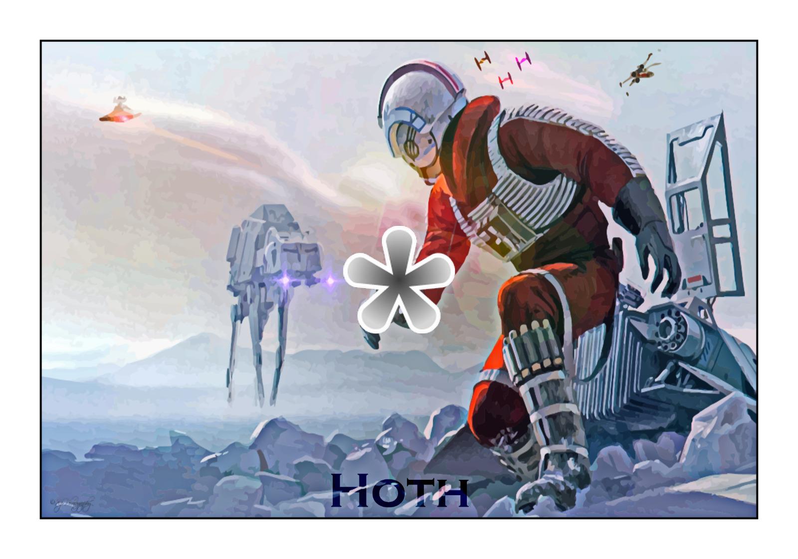 StarWars Planet Hoth