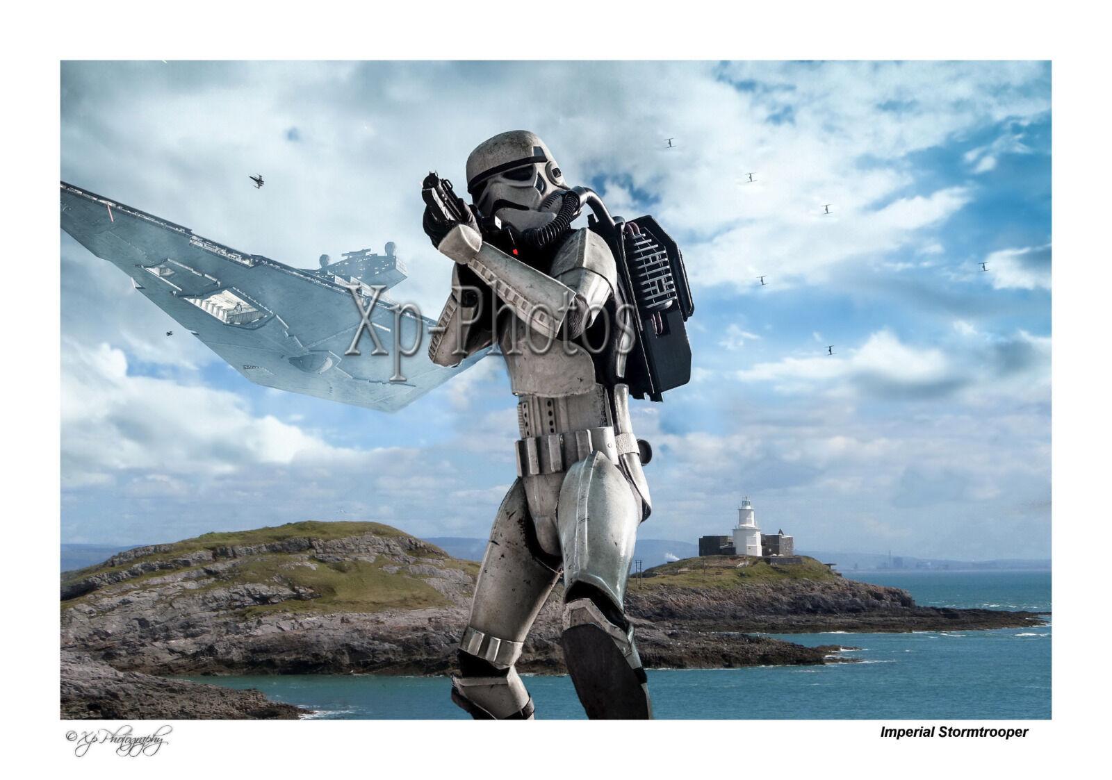 Stormtrooper Mumbles Lighthouse