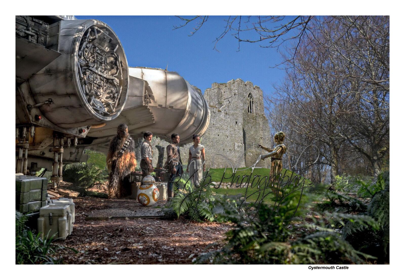 Millennium Falcon @ OysterMouth Castle