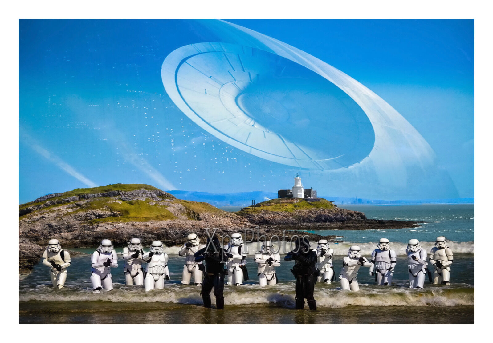 Stormtroopers Mumbles Lighthouse