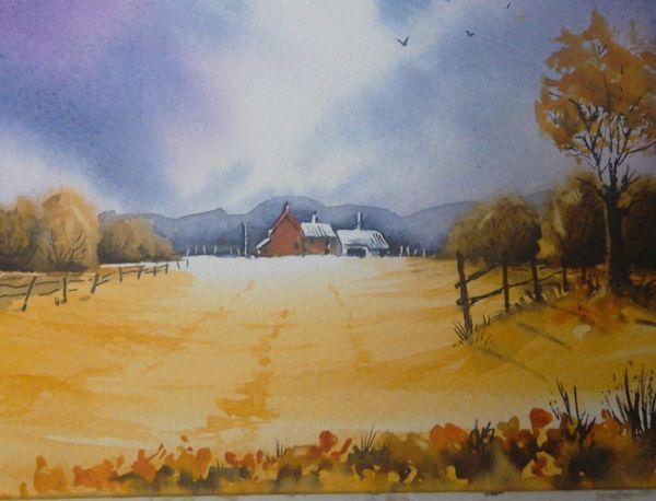 Denis Watkins. The Farmhouse