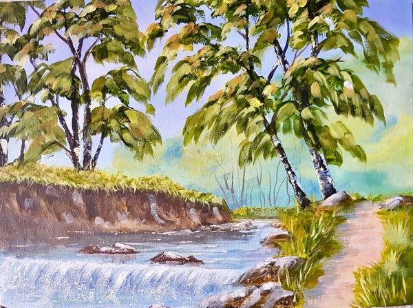 Dianne Cousins. River Walk