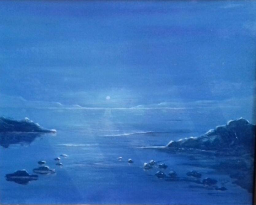 Tony Penhale. Moonlight Calm