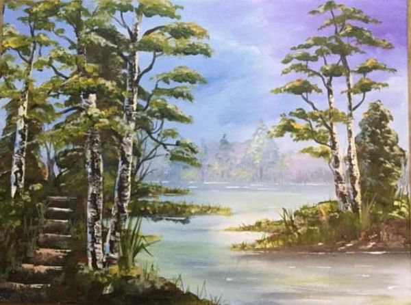 Dianne Cousins. The Lake