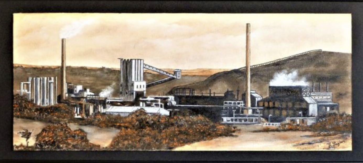 Francois Legier. Beddau Colliery..
