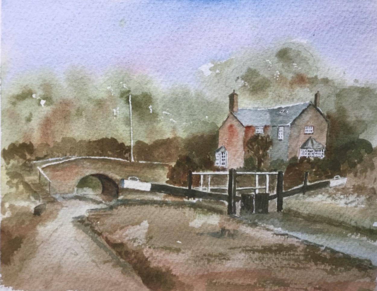 Chris Coleman. Montgomeryshire Canal near Welshpool