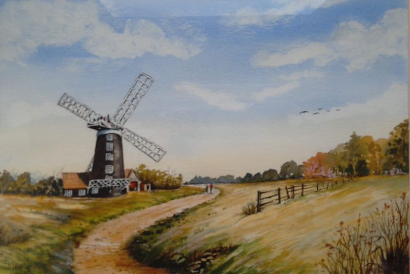 Denis Watkins. The Mill