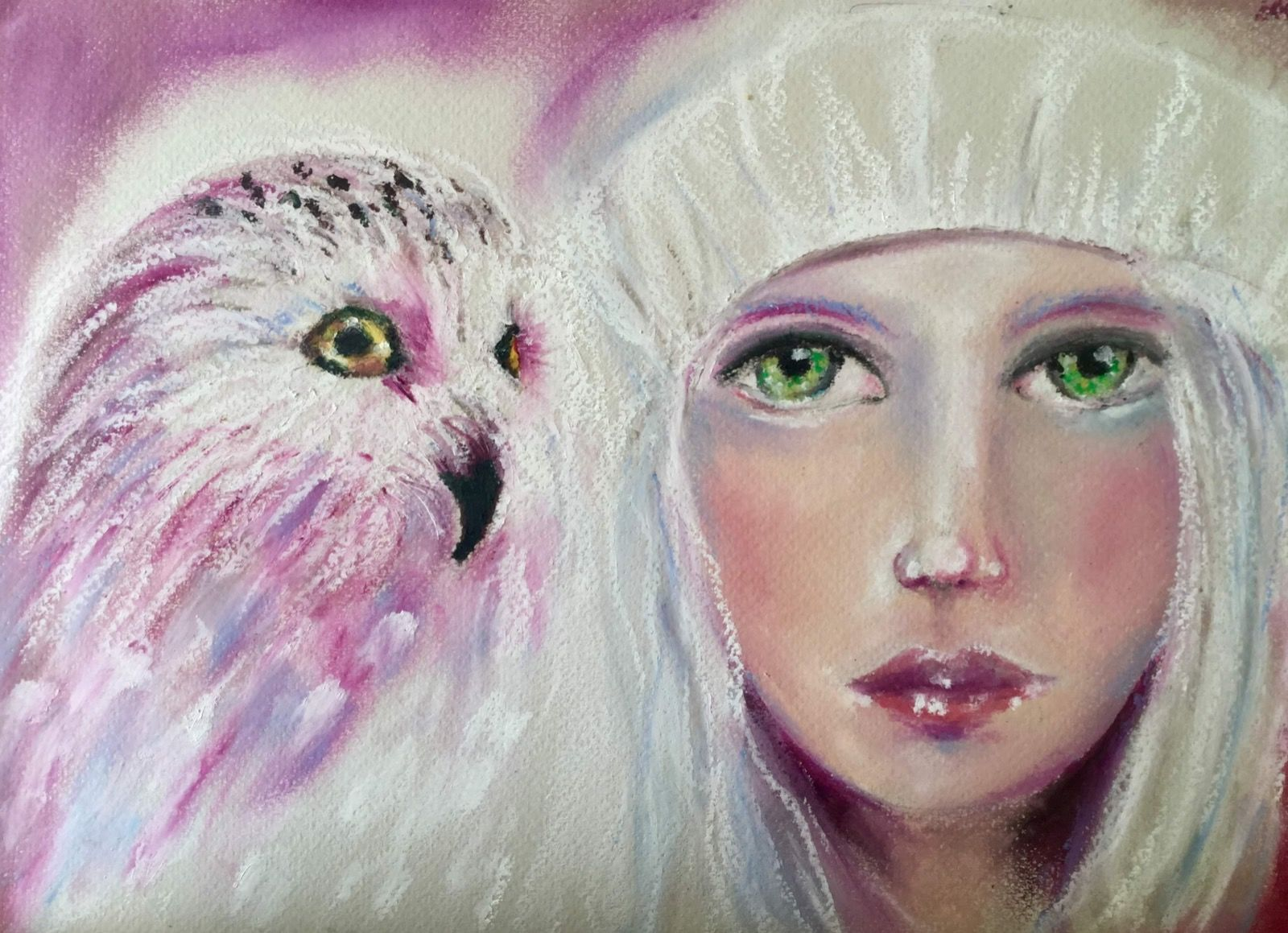 Dianne Cousins. Owl Girl