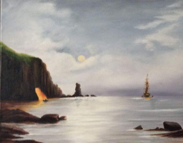 Gill Bowen.  Smuggler's Cove