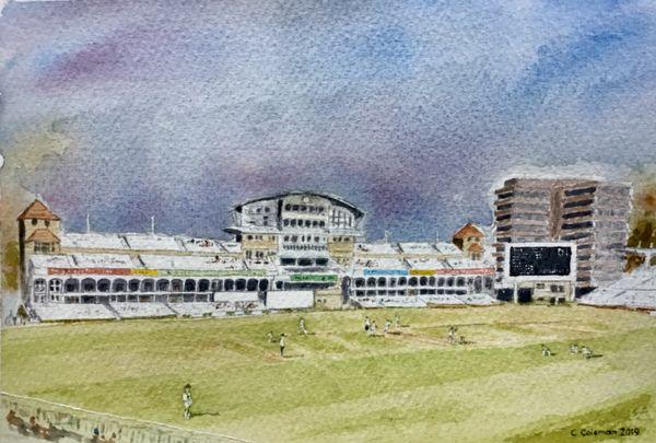 Chris Coleman. Trent Bridge Cricket Ground