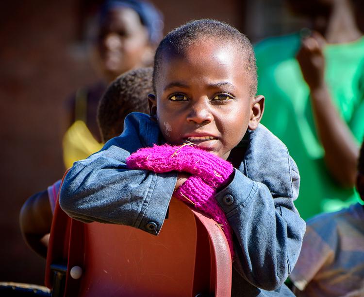 A boy from the orphanage , Mtunthama