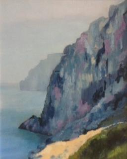 Frances Green - Cornish Cliffs.