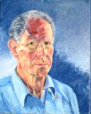 David Edwards - self portrait (oils)