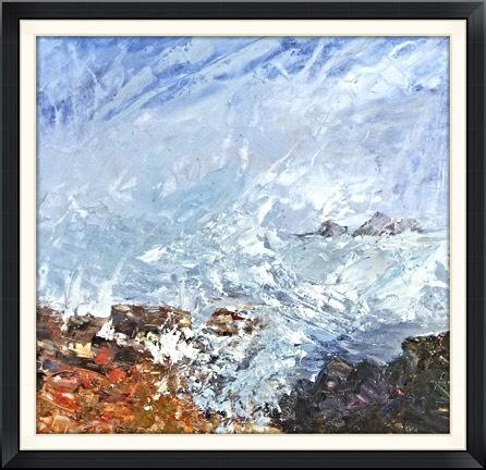 Cape Cornwall - acrylic