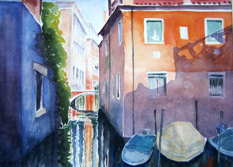 Venice - watercolour (Pam Osborne)