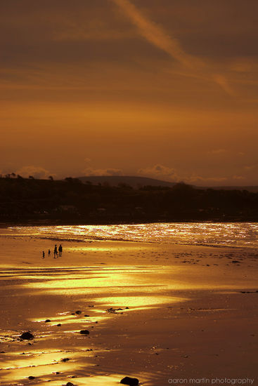 Sunset at Browns Bay Islandmagee, County Antrim