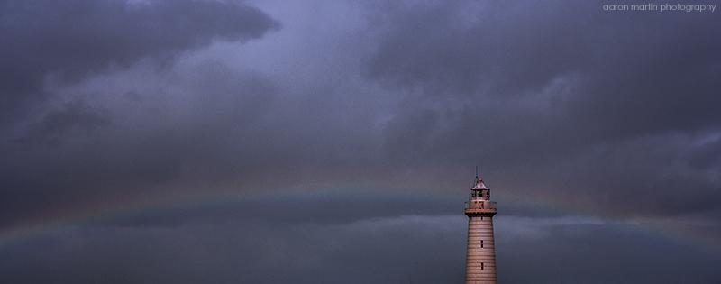 Donaghadee Lighthouse County Down Panoramic