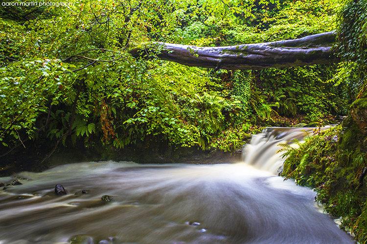 Top Waterfall, Glenoe, County Antrim