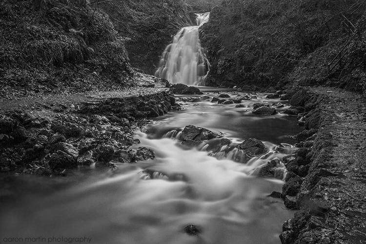 Glenoe Waterfall County Antrim