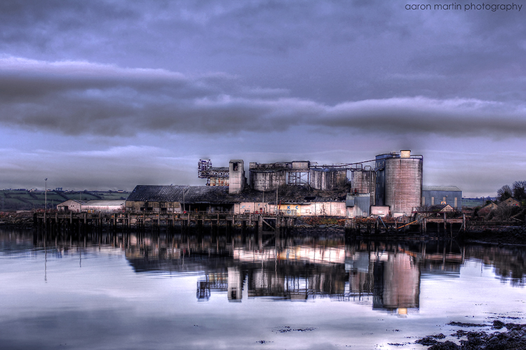 Magheramourne Cement Works County Antrim