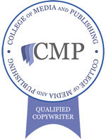 Copywriting qualified badge