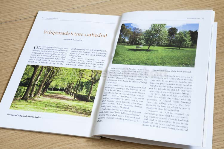 Andrew Baskott Northampton freelance copywriter: The Countryman magazine