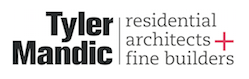 Logo for high-end architects firm Tyler Mandic