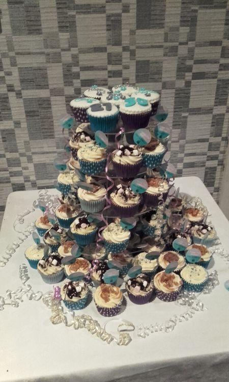 Large Cupcake Tower