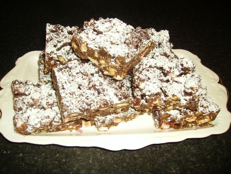 Rocky Road. £15 large tray (15 pieces)