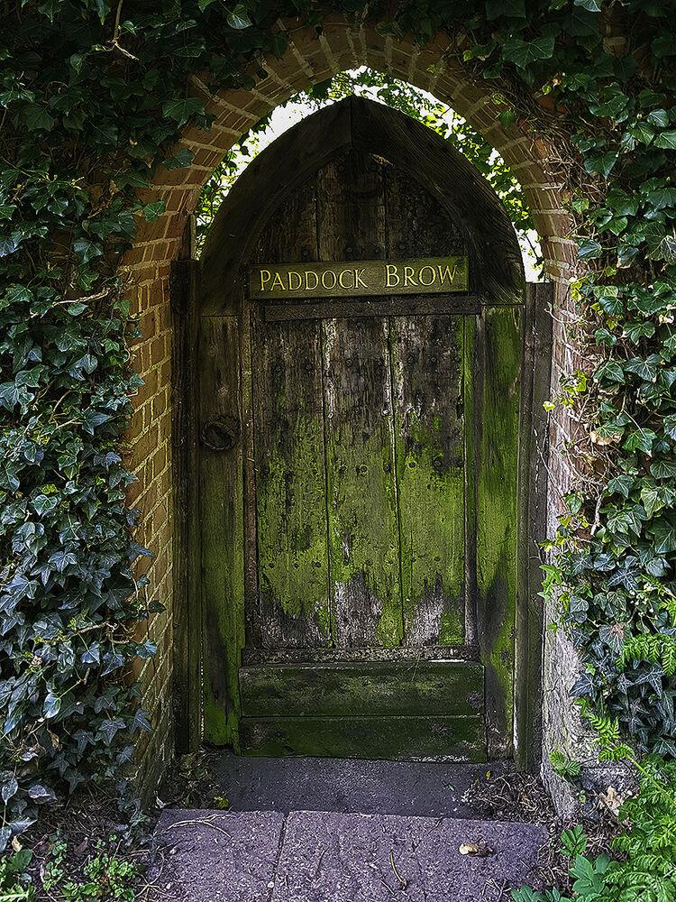 11. The Old doorway
