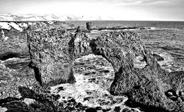 18/20 Icelandic coastal scene