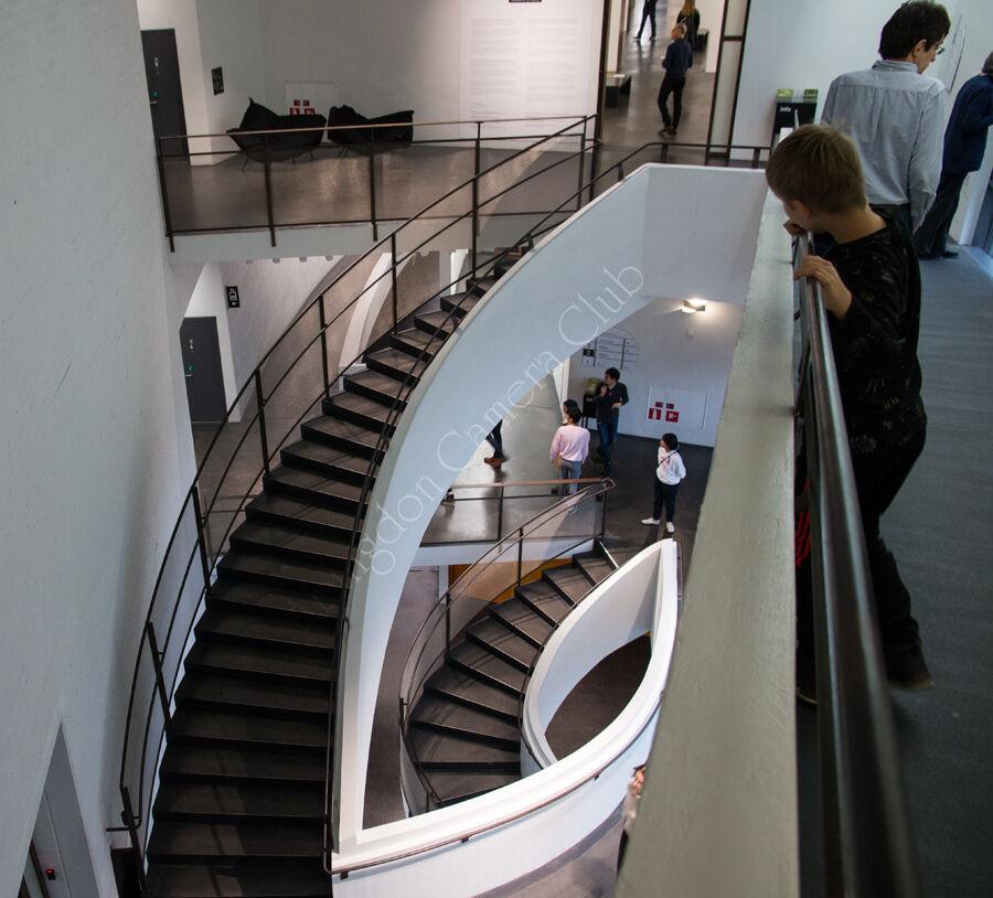 Kiasma stairs