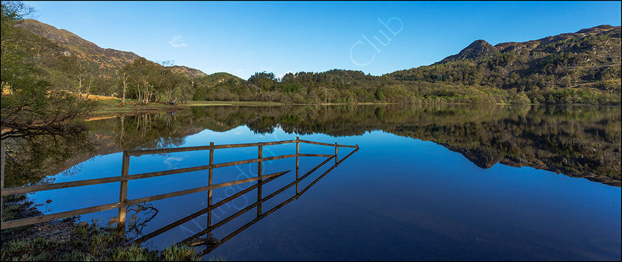 Reflections on Loch Achray