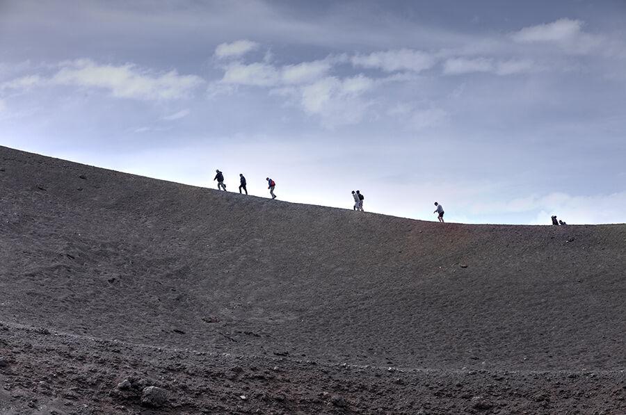 Slopes of Etna