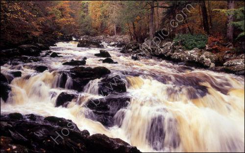 Black Linn Falls, The Hermitage.