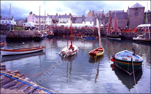 Portsoy boat festival.