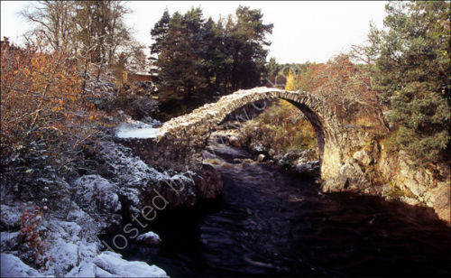 The old bridge, Carrbridge.