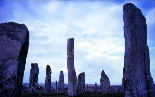 Standing Stones, <br> Callanish, <br> Isle of Lewis
