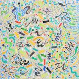 Imprivisations 181, acrylic on canvas, 50x50cm, 2015