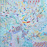 Improvisations 192, acrylic on canvas, 50x50cm, 2016