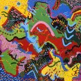 Blue Point, acrylic on canvas, 109x137cm, 1991
