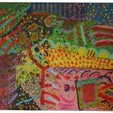 Burrough Hill, acrylic on canvas, 92x122cm, 1980