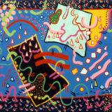 Drift Fields, acrylic on canvas, 51x61cm, 1991