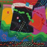Enclosures 5, acrylic on canvas.  61x76cm, 1990