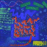 Interventions 23, acrylic on paper, 50x66cm, 1997