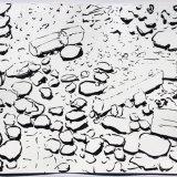 Isle d'Oleron, ink on paper, 38x48cm, 1988