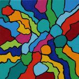 Positions 2, acrylic on canvas, 30x30, 2016