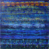 Terra Incognita 10, acrylic on paper, 102x77, 1999