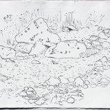 Stroanfreggan, ink on paper, 42x52cm, 2018
